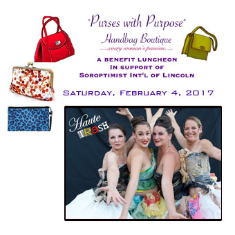 Purses With Purpose, A Benefit for Soroptimists International of Lincoln